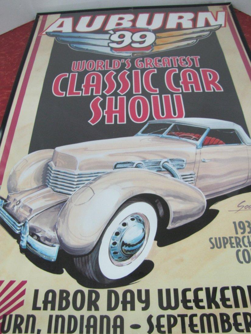 15D: 1999 Auburn Car Show Poster