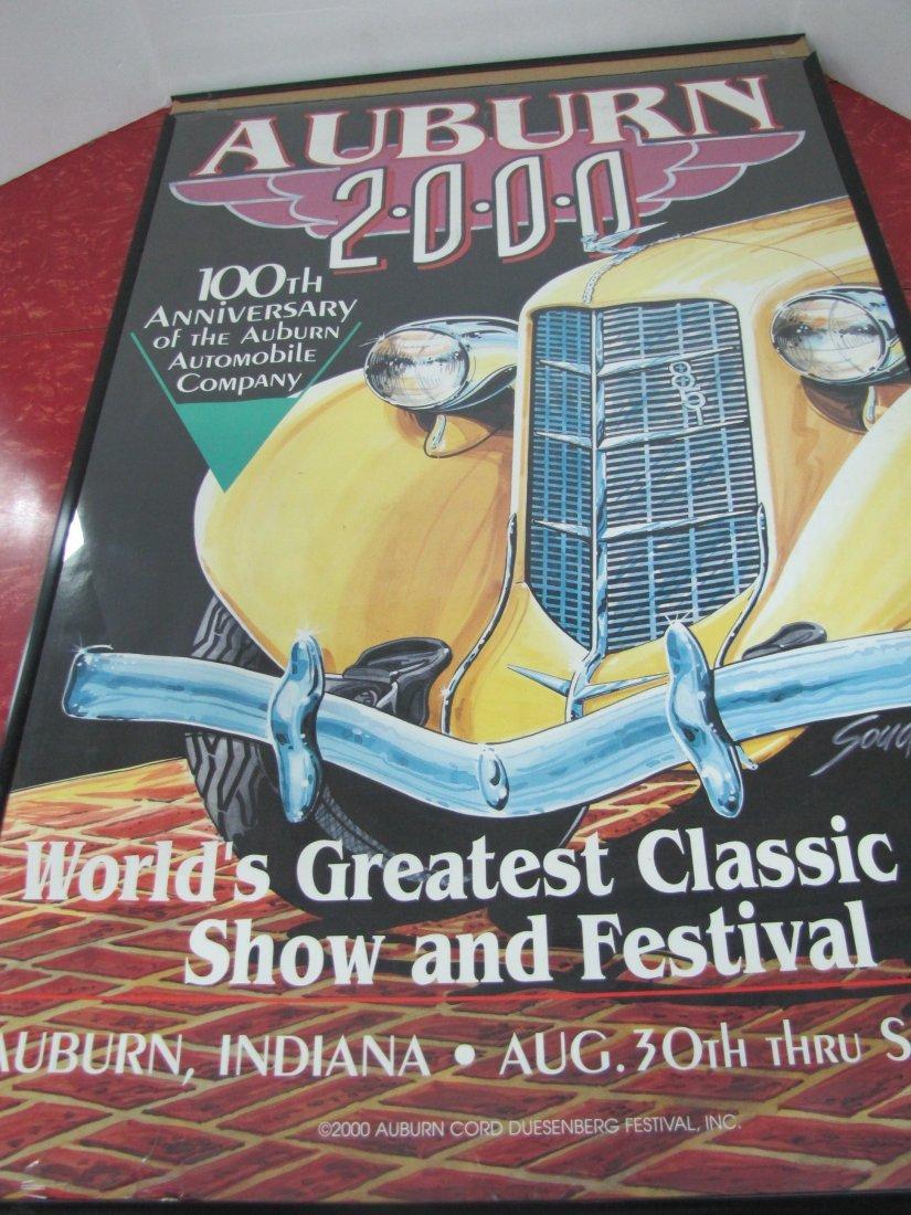 15E: 2000 Auburn Car Show Poster