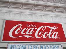 499A: Large Coca Cola Advertising Sign