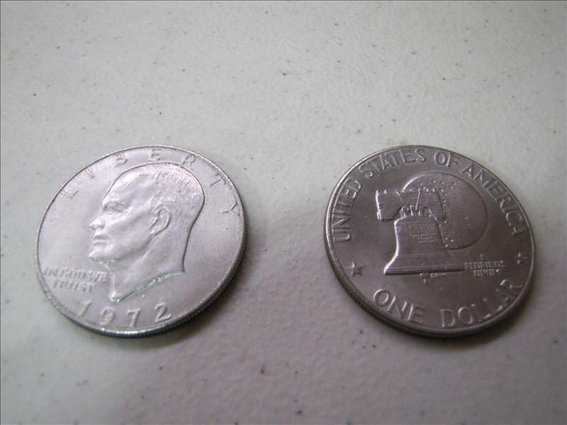 19: 2 Silver Dollars 1972 &1976