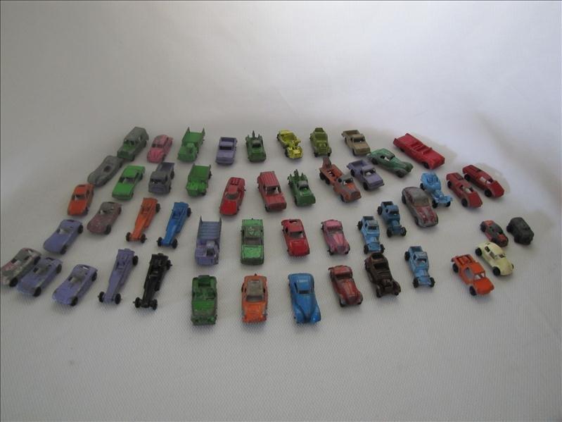 13: 49 Die Cast Tootsie Toy Cars
