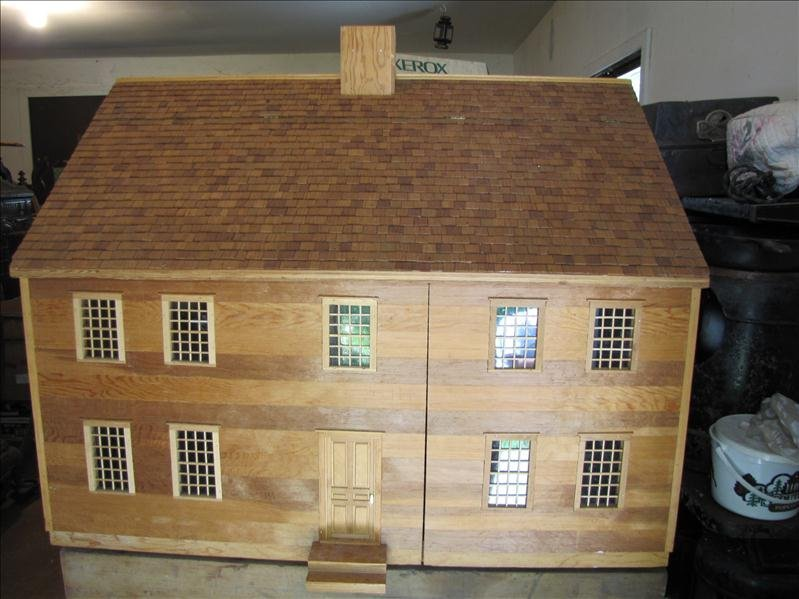 5: Custom Hand Crafted Doll House