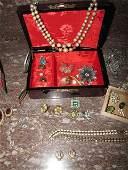 158A: Jewelry with W Germany Cameo Set