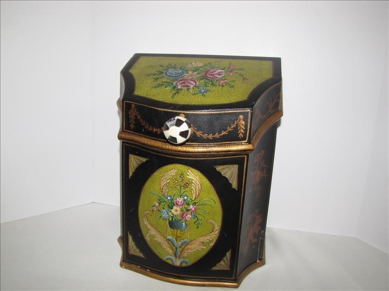 2: Decorative Painted Resin Box