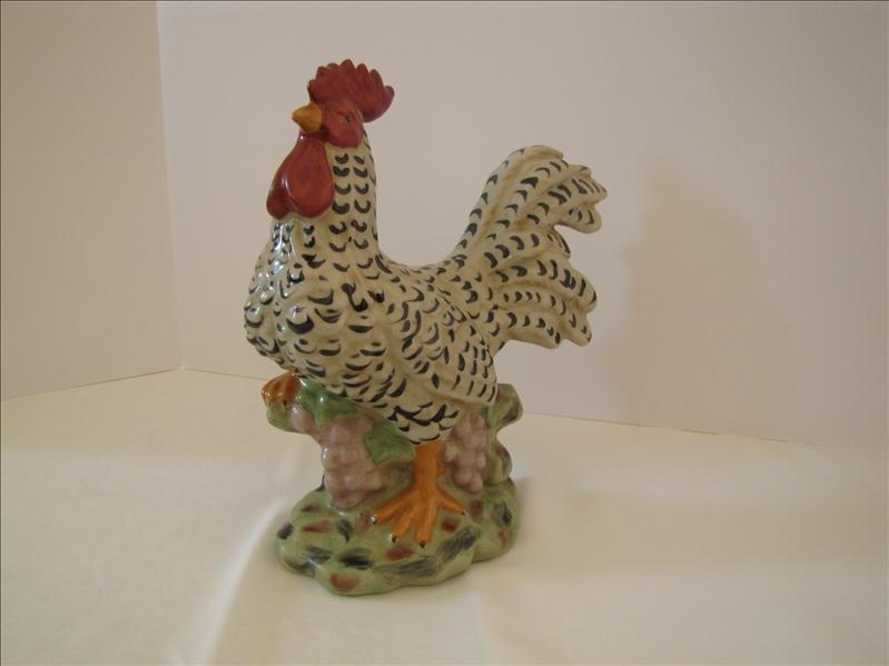 5: Decorative Ceramic Rooster