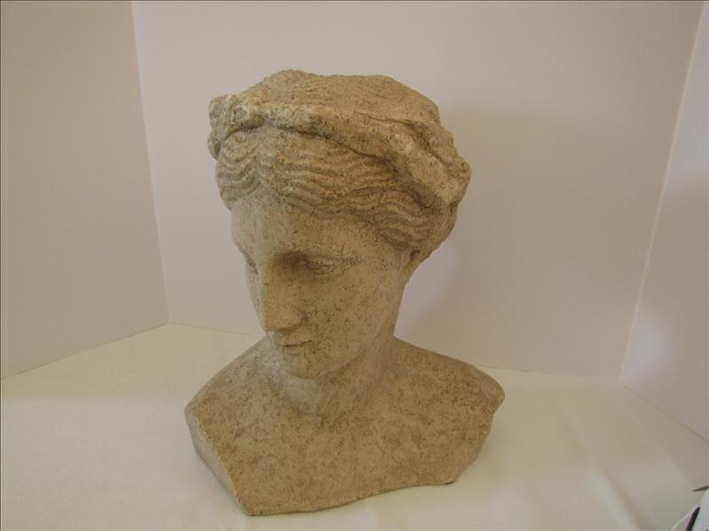 6: Decorative Plaster Woman's Bust