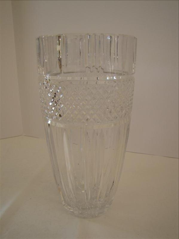 12: Lead Crystal Vase