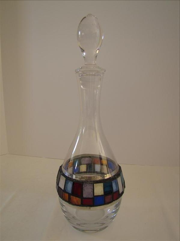 19: Home Decor Glass Decanter
