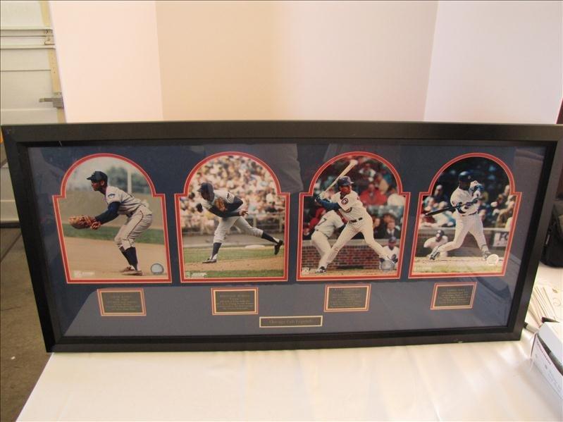 20: Framed and Matted Chicago Cubs Legends