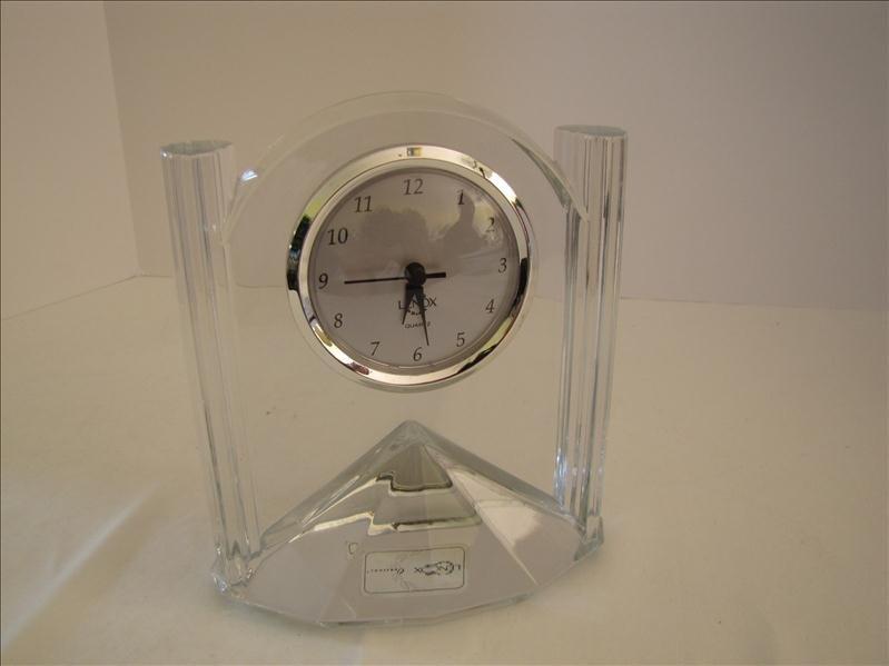 22: Lenox Lead Crystal Clock