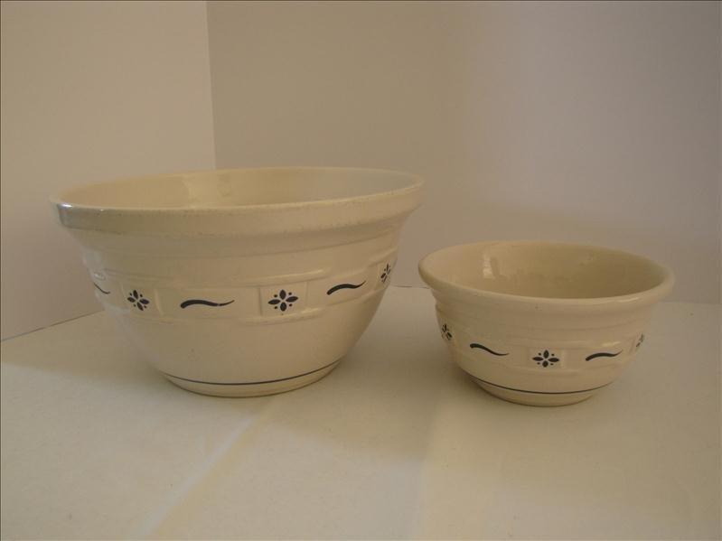 24: Longaberger Pottery Bowls