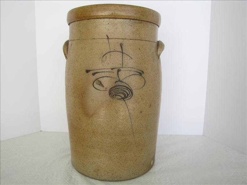 18: Bee Sting Stoneware Crock