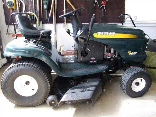 Craftsman Lt1000 Riding Mower >> 118 Craftsman Lt1000 Riding Lawn Mower Sep 26 2012 Scheerer