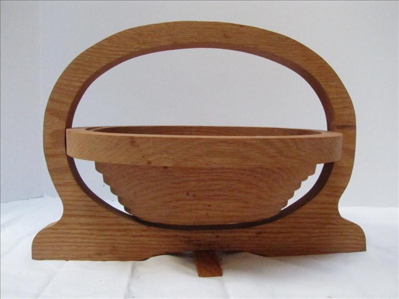 10: Wooden Coil Fruit Basket