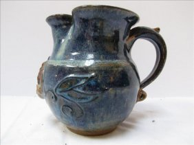 Pottery Water Pitcher