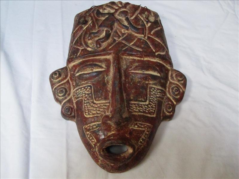 19: Incan Style Decorative Head Mask
