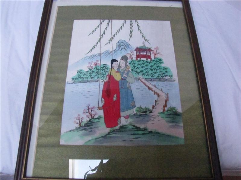25: Oriental Silk Stitching