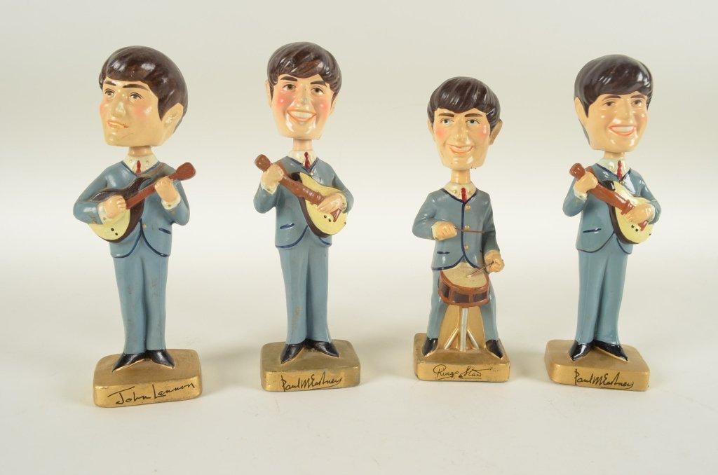112: Beatles Bobble Head Dolls