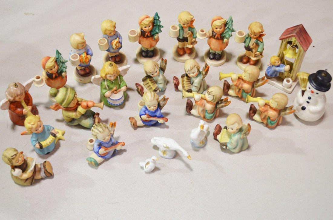 16: M.I. Hummel Candleholder Figurines & Ornaments