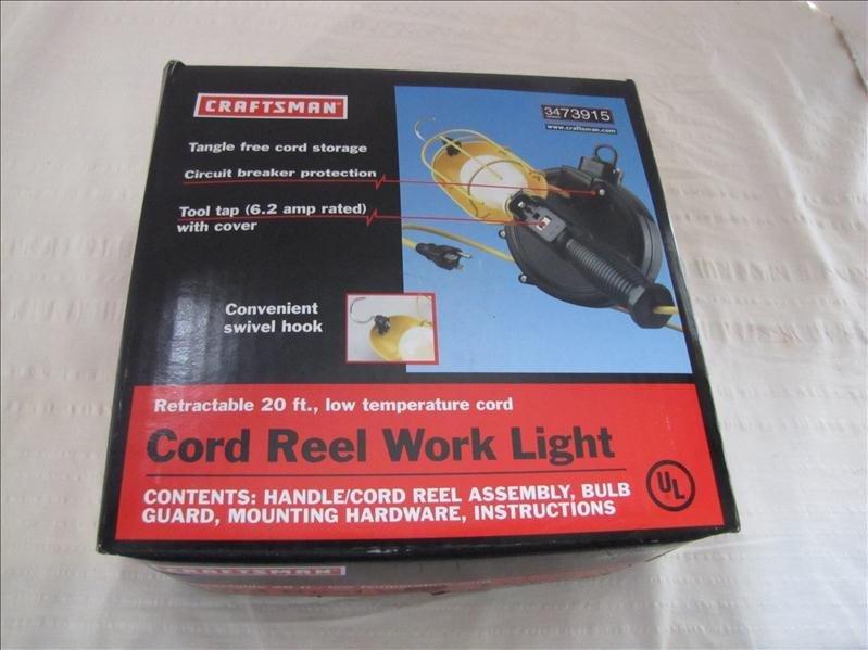 2: Craftsman Cord Reel Work Light