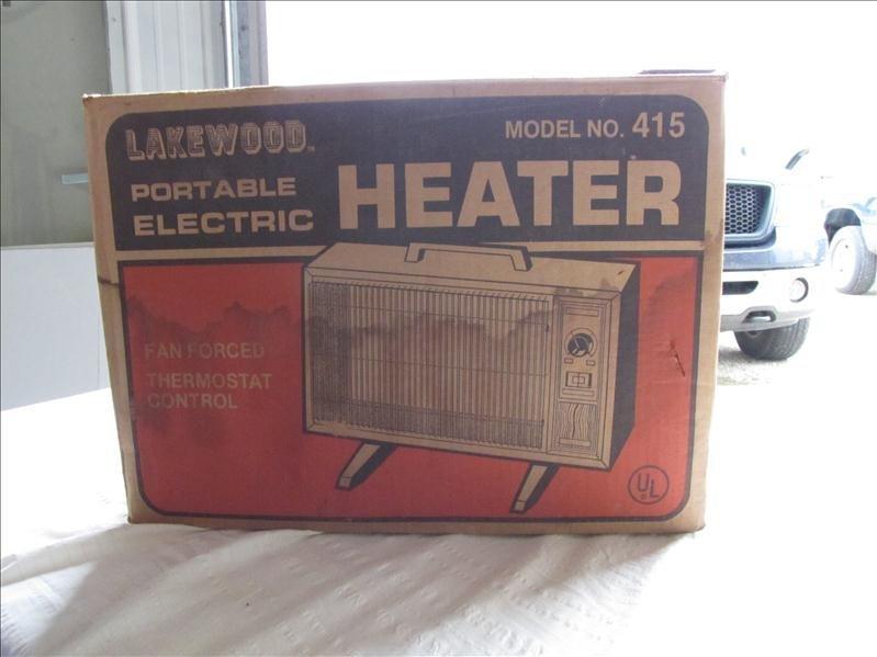 9: Lakewood Electric Heater