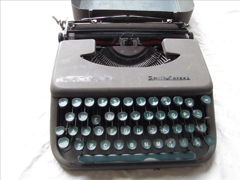 12: Vintage Smith-Corona Portable Typewriter