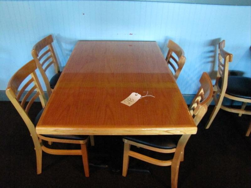 2B: Table and (4) Chairs