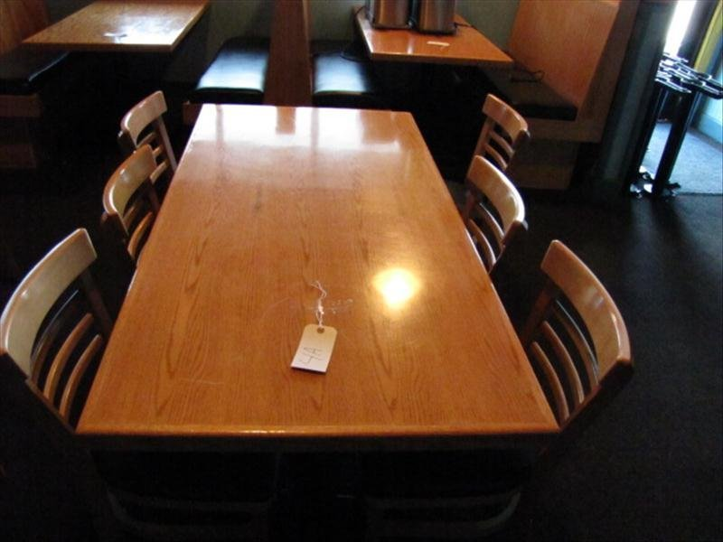 4A: Table and Chairs For A Restaurant