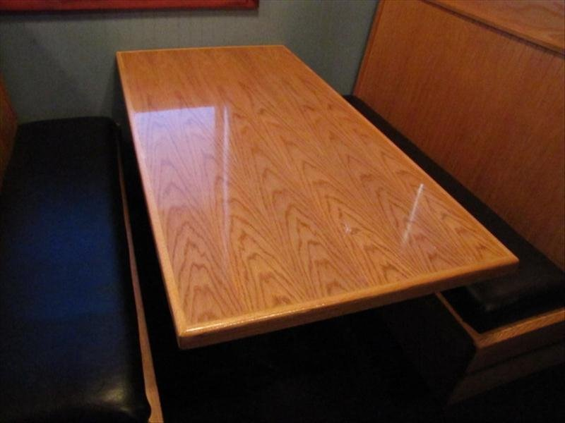 4H: A 5 Foot Long Restaurant Table