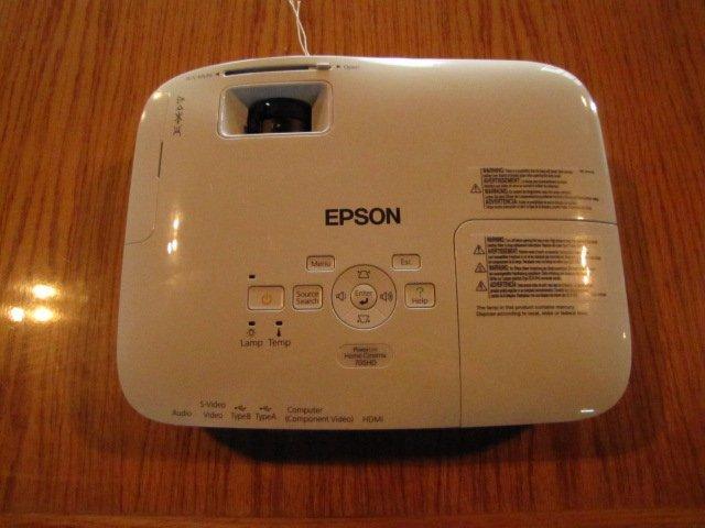 3C: Home Cinema HD Epson Projector - 4