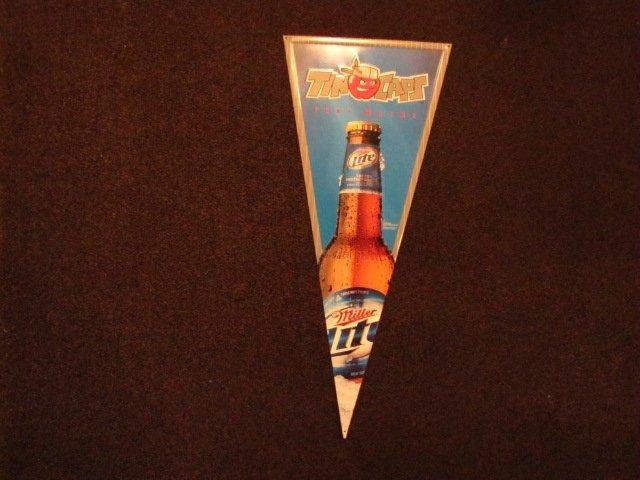 3D: Miller Lite Fort Wayne Tincaps metal sign