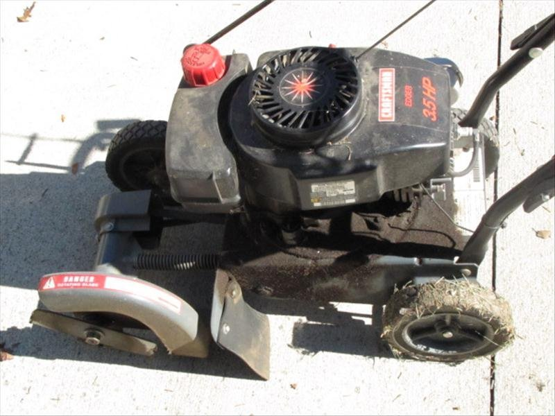 68: Craftsman 3.5HP Edger - 3