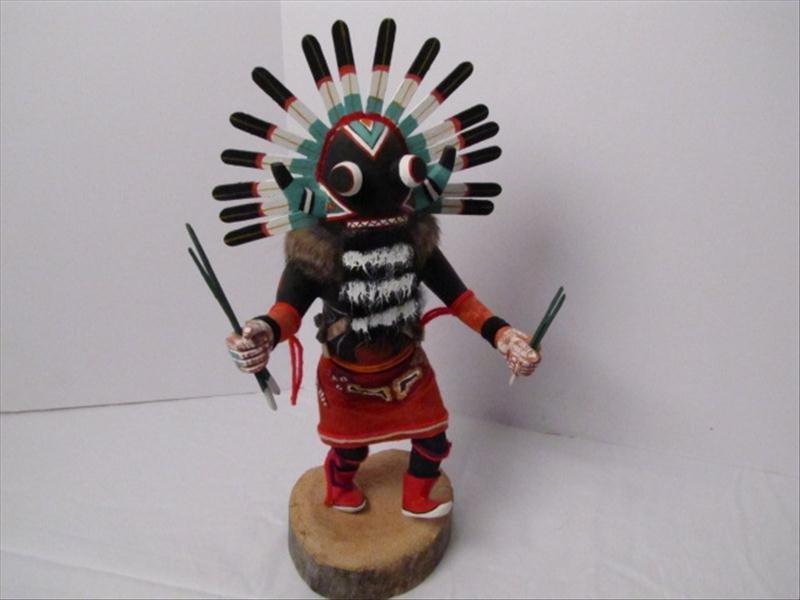 4: Pair of Kachina Dolls