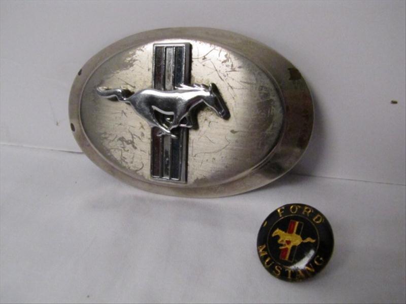 6: Original Ford Mustang Pony Belt Buckle