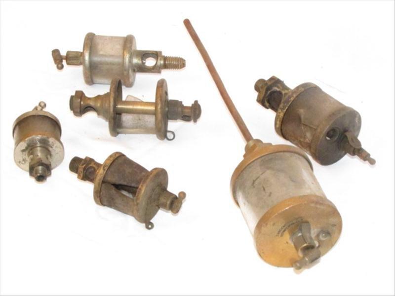 15: (6) Brass Hit Miss Engine Oilers