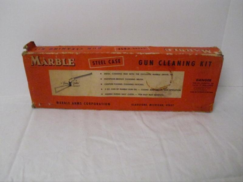 21: Vintage Marble Arms Gun Cleaning Kit
