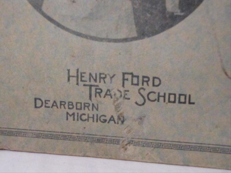 22: Henry Ford Trade School Book on Shop Theory - 2