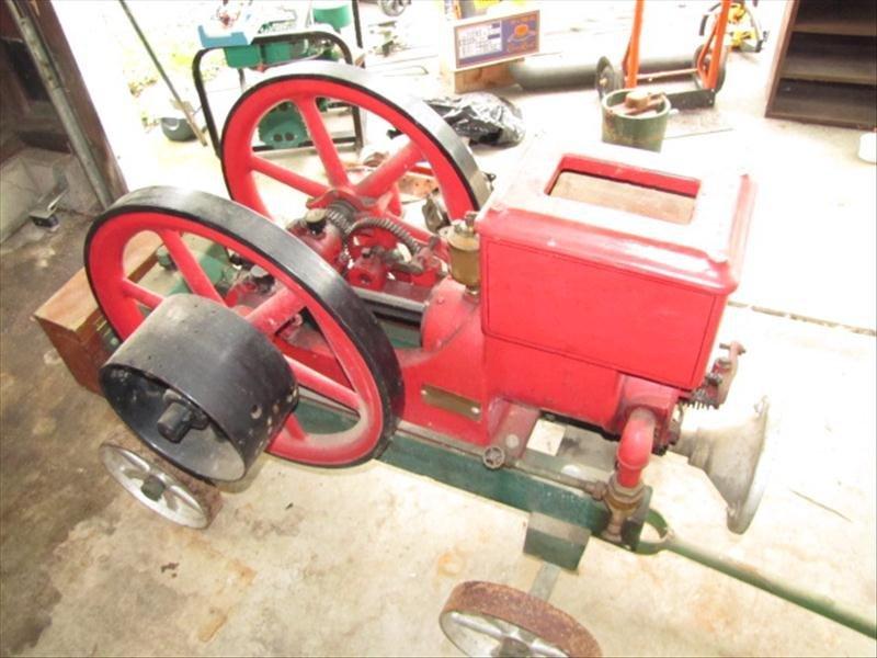 42: United 1.5 hp Hit Miss Engine