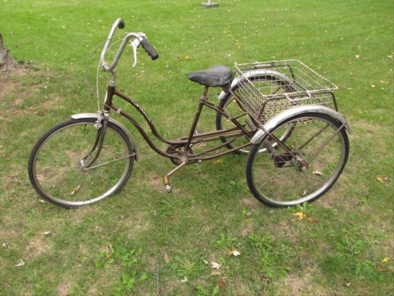 53: Vintage Schwinn Tricycle