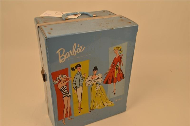 8: Barbie Doll Wardrobe Box w/ Wardrobe & Doll