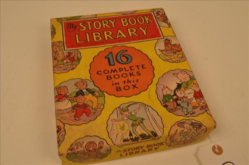 9: Children's Story Book Library