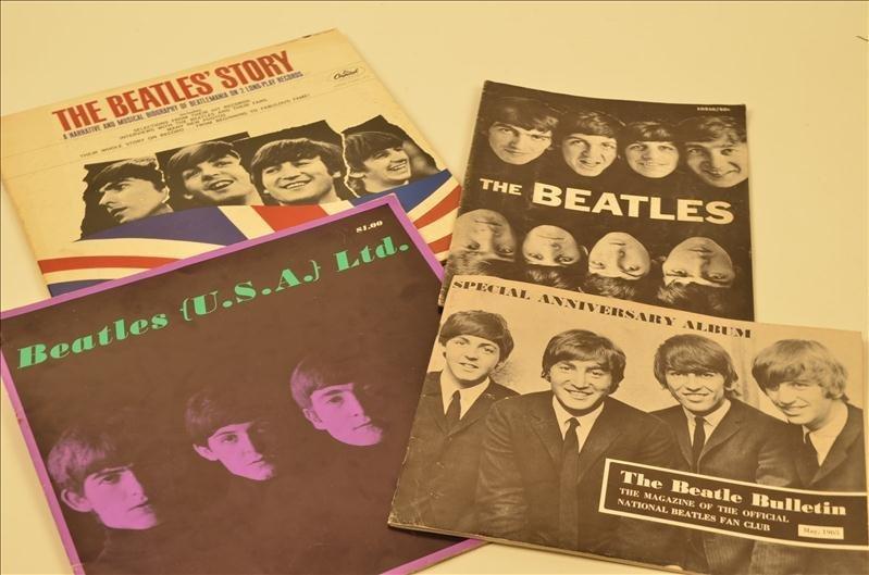 11: Assorted Lot Of Beatles Memorabilia