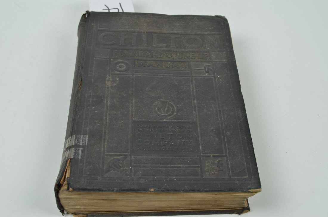 14: 1937 Chilton's Flat Rate Manuel