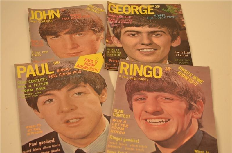15: Teen Screen Beatles Magazines