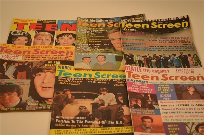 21: Lot of Assorted Teen Screen Magazines