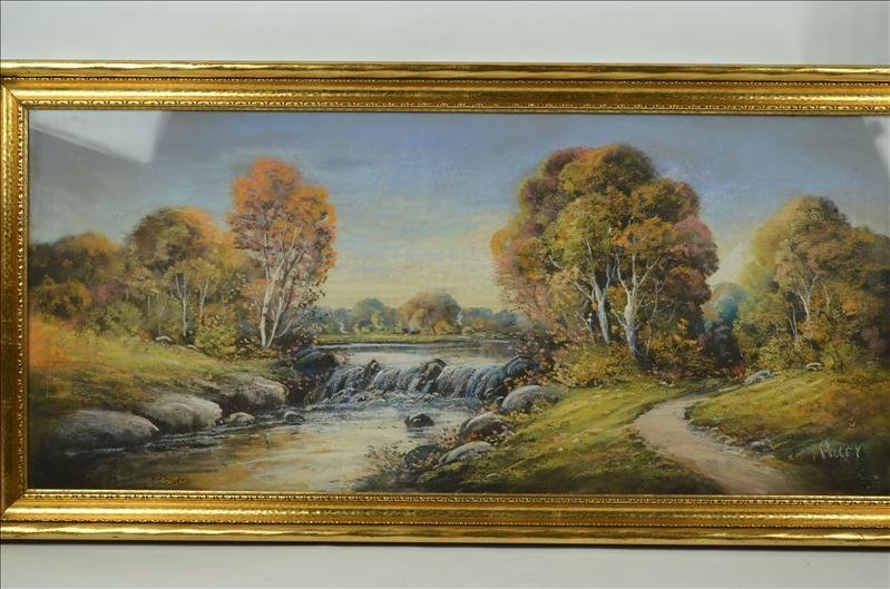 49: Original Colley Pastel Landscape Artwork