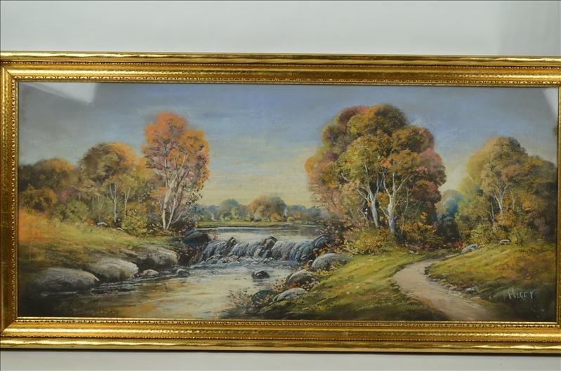 49: Original Colley Pastel Landscape Artwork - 2