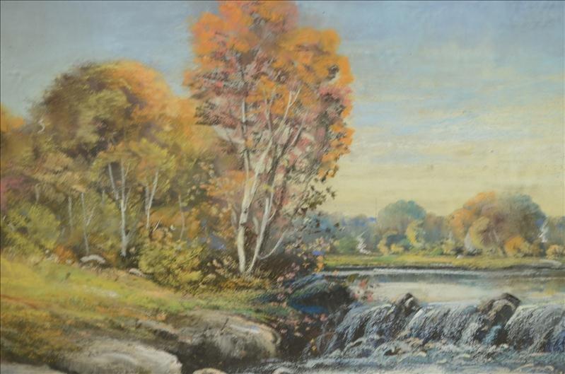 49: Original Colley Pastel Landscape Artwork - 4
