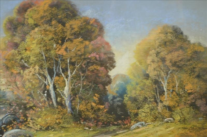 49: Original Colley Pastel Landscape Artwork - 5
