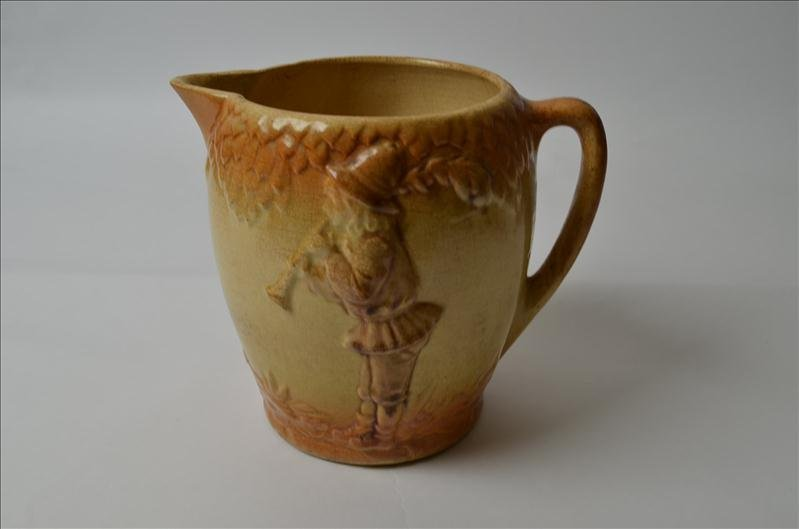 4: Early Roseville Pottery Pitcher